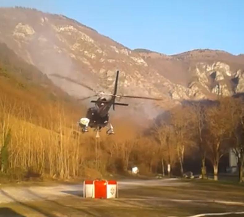 Incendio devasta Monte Grappa: si teme origine dolosa