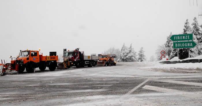 Autostrade: ghiaccio, situazione verso totale normalità