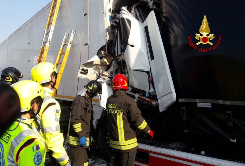 Incidente in A4: chiusi caselli Montebello, Montecchio e Vicenza Ovest