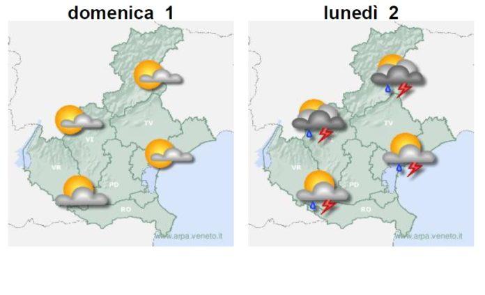 Le previsioni meteo del weekend a Napoli dal 31 agosto all'1 settembre